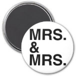 MRS. AND MRS. -.png Refrigerator Magnet