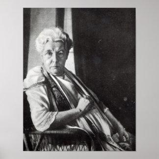 Mrs. Annie Besant Poster