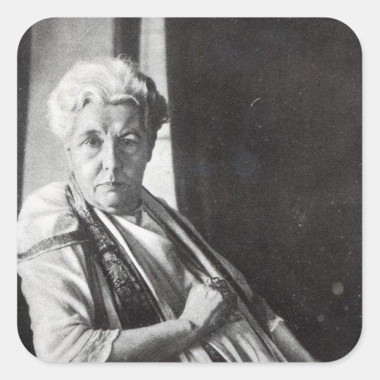 Mrs. Annie Besant Square Sticker