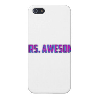 Mrs. Awesome Case For iPhone SE/5/5s