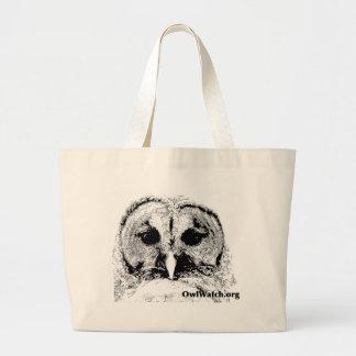 Mrs Barred Owl - Mar 2015 Jumbo Tote Bag