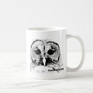Mrs Barred Owl - Mar 2015 Classic White Coffee Mug