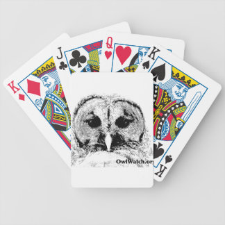 Mrs Barred Owl - Mar 2015 Bicycle Playing Cards