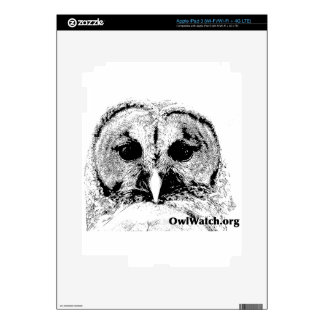 Mrs Barred Owl - Mar 2015 Decals For iPad 3