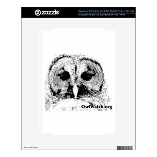 Mrs Barred Owl - Mar 2015 Decals For NOOK