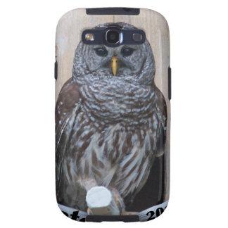 Mrs Barred Owl - OctoBox Nest Samsung Galaxy S3 Case