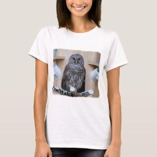 Mrs Barred Owl - OctoBox Nest T-Shirt