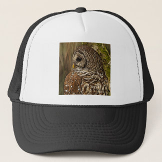 Mrs Barred Owl Trucker Hat