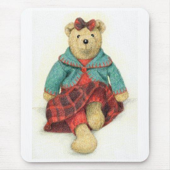 Mrs. Bear Mouse Pad