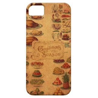 Mrs Beeton's Christmas Feast iPhone 5 Case