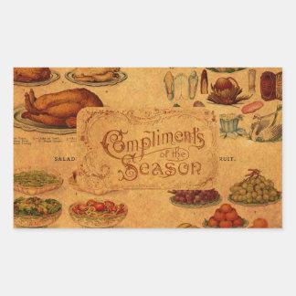 Mrs Beeton's Christmas Feast Stickers