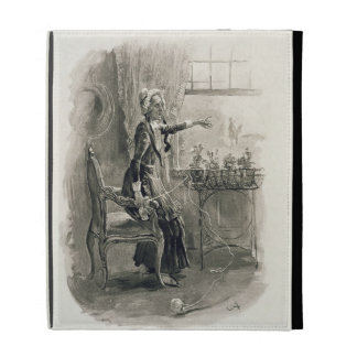 Mrs Betsy Trotwood, from 'Charles Dickens: A Gossi iPad Folio Cover