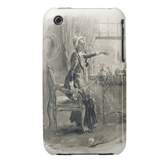 Mrs Betsy Trotwood, from 'Charles Dickens: A Gossi iPhone 3 Case-Mate Case