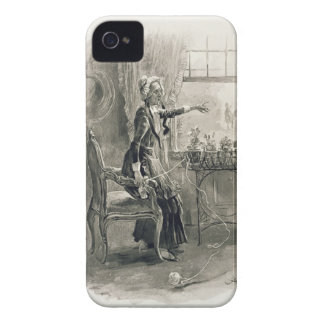Mrs Betsy Trotwood, from 'Charles Dickens: A Gossi iPhone 4 Case