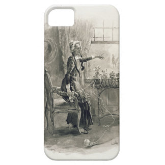 Mrs Betsy Trotwood, from 'Charles Dickens: A Gossi iPhone SE/5/5s Case