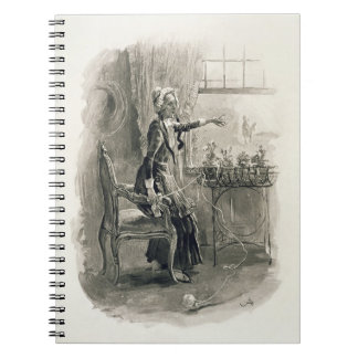 Mrs Betsy Trotwood, from 'Charles Dickens: A Gossi Spiral Note Books
