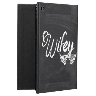 Mrs Biker honeymoon chalkboard wifey Powis iPad Air 2 Case
