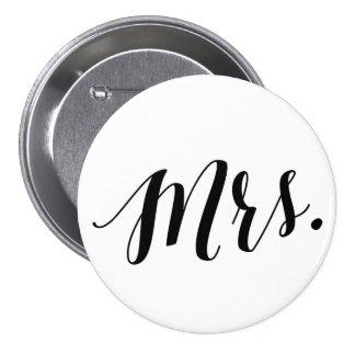 Mrs. Black Script Button