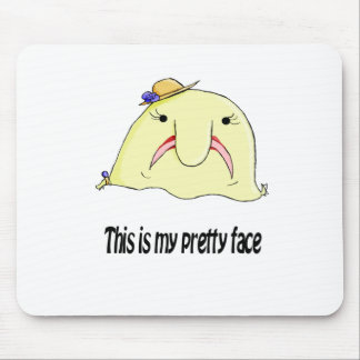 Mrs Blob Mouse Pad