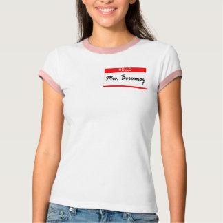 Mrs Boreanaz T-Shirt