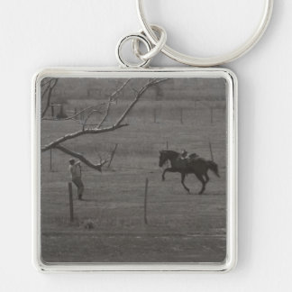 Mrs. Boss by Leslie Peppers Keychain