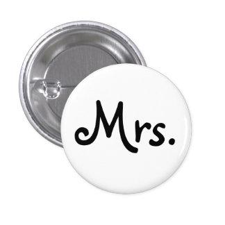 """Mrs."" Button (Bride)"