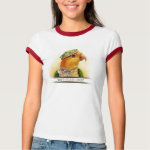 Mr & Mrs Caique Realistic Painting T-Shirt