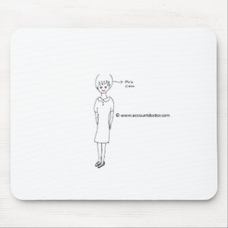 Mrs Calm Mouse Pad