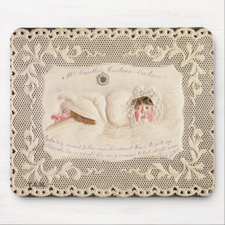 Mrs Caudle's Curtain Lecture, Victorian card from Mouse Pad