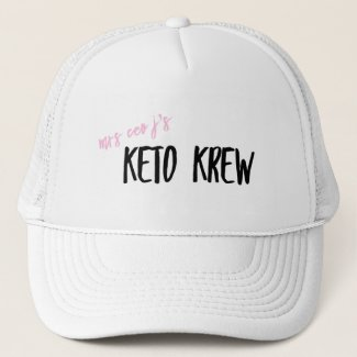 Mrs CEO J's KETO KREW Hat