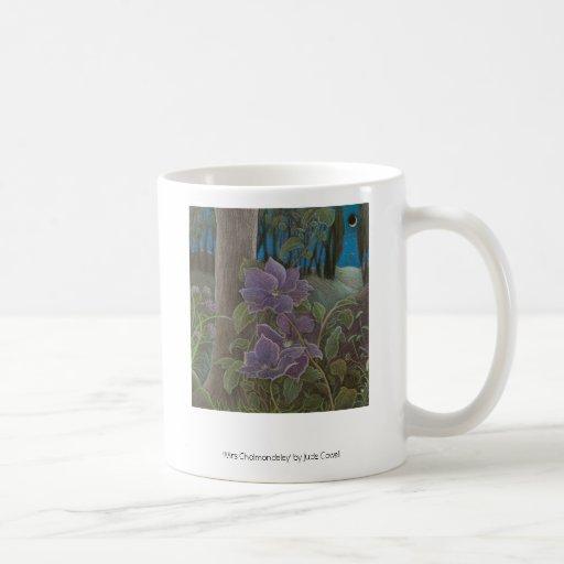 'Mrs Cholmondeley' coffee mug