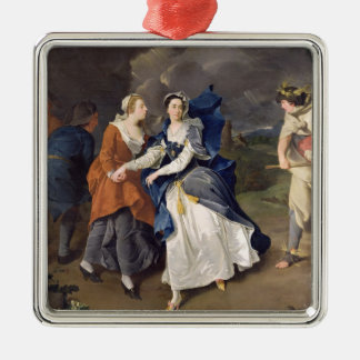 Mrs Cibber (1714-66) as Cordelia, 1755 (oil on can Metal Ornament