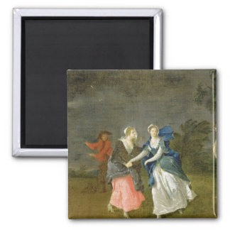 Mrs Cibber as Cordelia, c.1755 (oil on canvas) 2 Inch Square Magnet