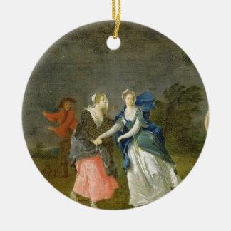 Mrs Cibber as Cordelia, c.1755 (oil on canvas) Ceramic Ornament