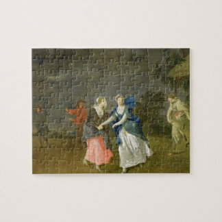 Mrs Cibber as Cordelia, c.1755 (oil on canvas) Jigsaw Puzzle