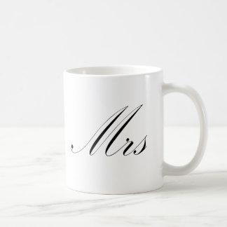 Mrs Classic White Coffee Mug