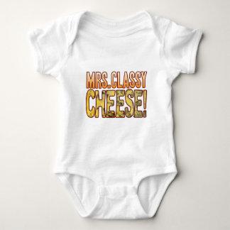 Mrs Classy Blue Cheese Baby Bodysuit