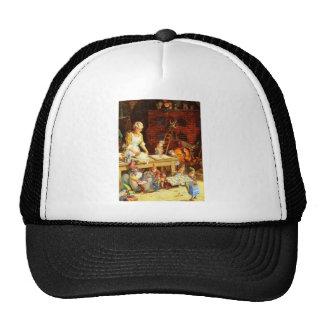 Mrs. Claus and Santas Elves Bake Christmas Cookies Trucker Hat