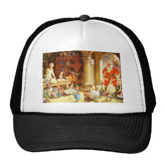 Mrs. Claus and The Elves Bake Christmas Cookies Trucker Hat