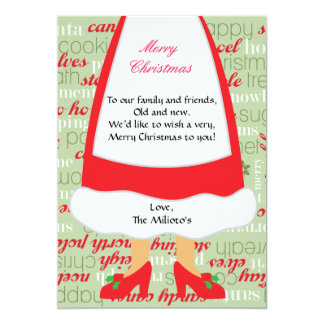Mrs. Claus Christmas Card