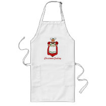Mrs. Claus Christmas Cookies Apron