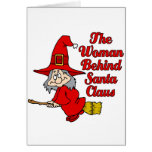 mrs claus greeting card
