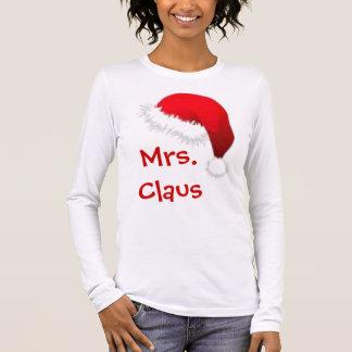 Mrs. Claus Long Sleeve T-Shirt