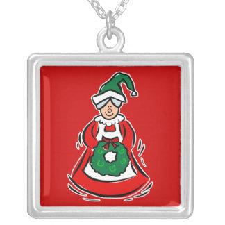 mrs claus necklaces