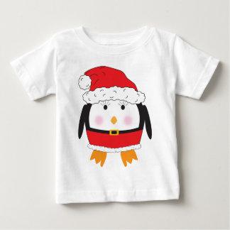 Mrs. Claus Penguin Baby T-Shirt
