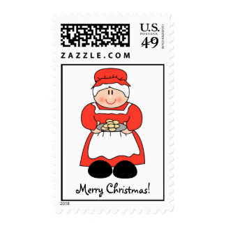 Mrs. Claus Postage