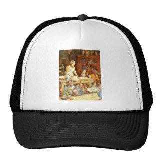 Mrs. Claus & Santa's Elves Bake Christmas Cookies Trucker Hat