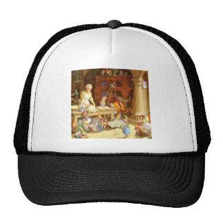 Mrs.Claus &  Santa's Elves Bake Christmas Cookies Trucker Hat