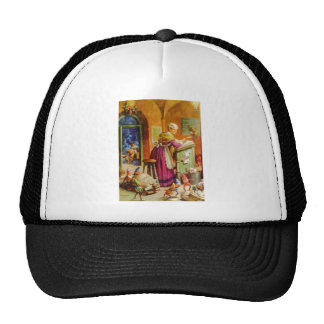Mrs. Claus & Santa's Elves in the Mailroom Trucker Hat