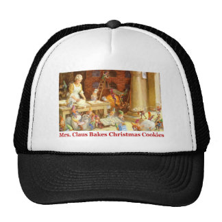 Mrs. Claus & the Elves Bake Christmas Cookies Trucker Hat